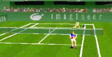 Virtual Open Tennis Saturn Screenshot