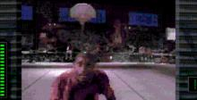Slam City With Scottie Pippen Sega CD Screenshot