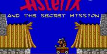 Asterix and the Secret Mission Sega Master System Screenshot