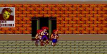 Double Dragon Sega Master System Screenshot