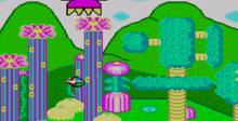 Fantasy Zone Sega Master System Screenshot