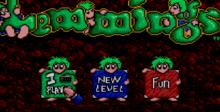 Lemmings Sega Master System Screenshot