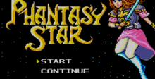 Phantasy Star Sega Master System Screenshot