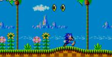Sonic The Hedgehog Sega Master System Screenshot