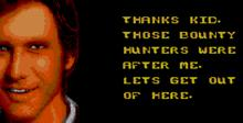 Star Wars Sega Master System Screenshot