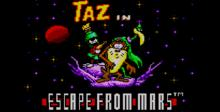 Taz in Escape From Mars Sega Master System Screenshot