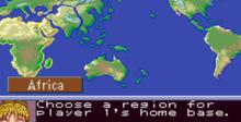 Aerobiz Supersonic SNES Screenshot