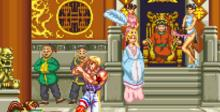 Fighter's History SNES Screenshot