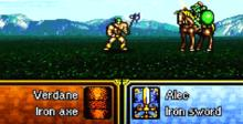 Fire Emblem: Genealogy of the Holy War SNES Screenshot