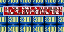 Jeopardy! Sports Edition SNES Screenshot