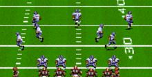 John Madden Football SNES Screenshot
