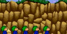 Lemmings SNES Screenshot