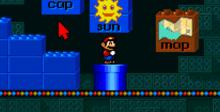 Mario's Early Years: Fun With Letters SNES Screenshot