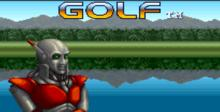 Mecarobot Golf SNES Screenshot
