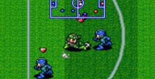 Mega Man's Soccer SNES Screenshot