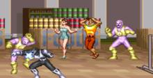 Mighty Morphin Power Rangers: The Movie SNES Screenshot