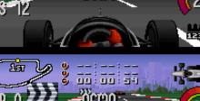 Newman Haas Indy Car Racing SNES Screenshot