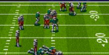 NFL Quarterback Club '96 SNES Screenshot