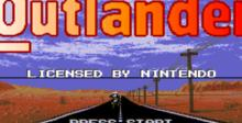 Outlander SNES Screenshot