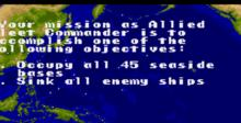 P.T.O.: Pacific Theater of Operations SNES Screenshot