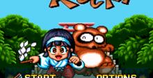 Pocky & Rocky SNES Screenshot