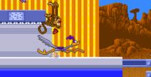 Road Runner's Death Valley Rally SNES Screenshot