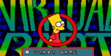 The Simpsons: Virtual Bart SNES Screenshot