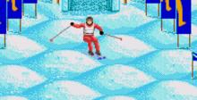 Winter Olympic Games: Lillehammer '94 SNES Screenshot