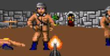 Wolfenstein 3D SNES Screenshot
