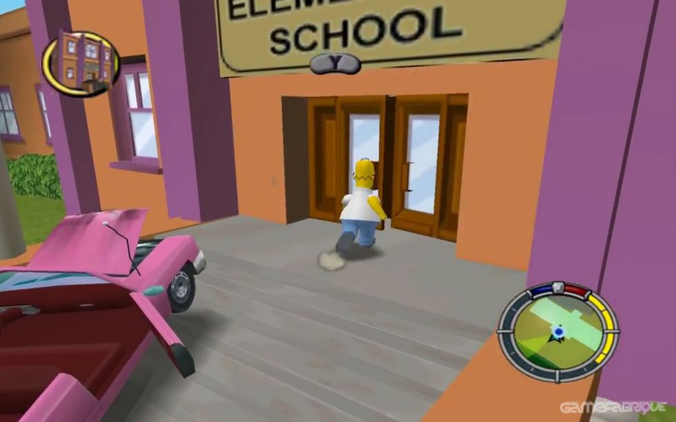 The Simpson: Hit and Run Download Game - GameFabrique