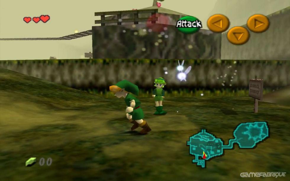 Zelda: Ocarina of Time / Master's Quest Download Game