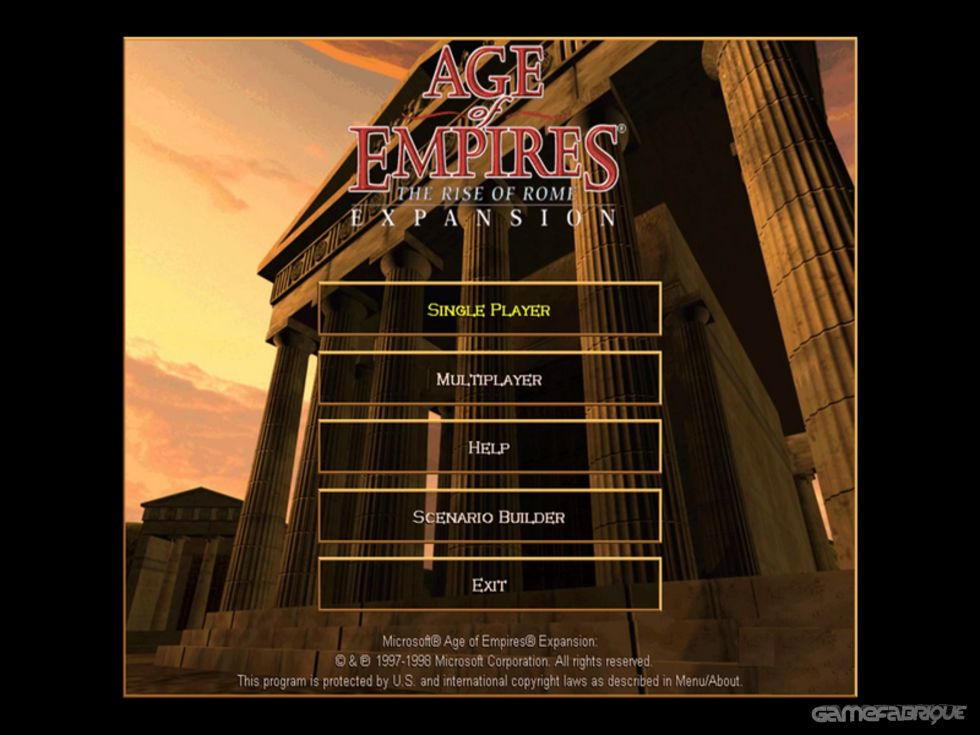 Age of Empires Expansion: The Rise of Rome Download Game
