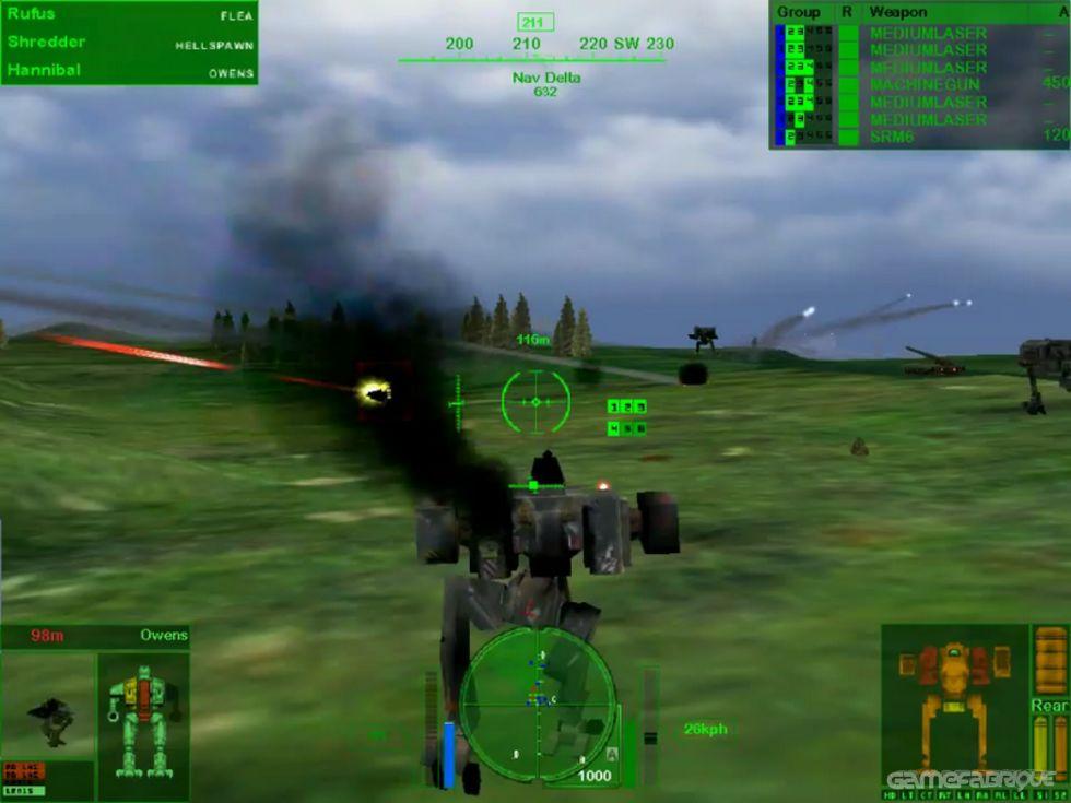 Mechwarrior 4: Mercenaries Download Game | GameFabrique