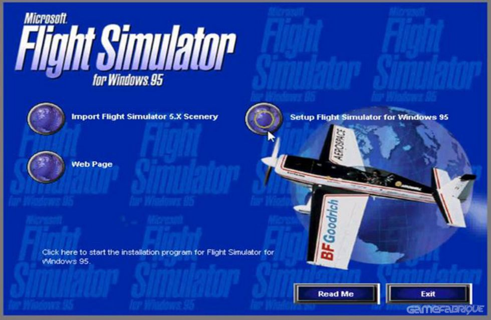 Microsoft Flight Simulator for Windows 95 Download Game | GameFabrique