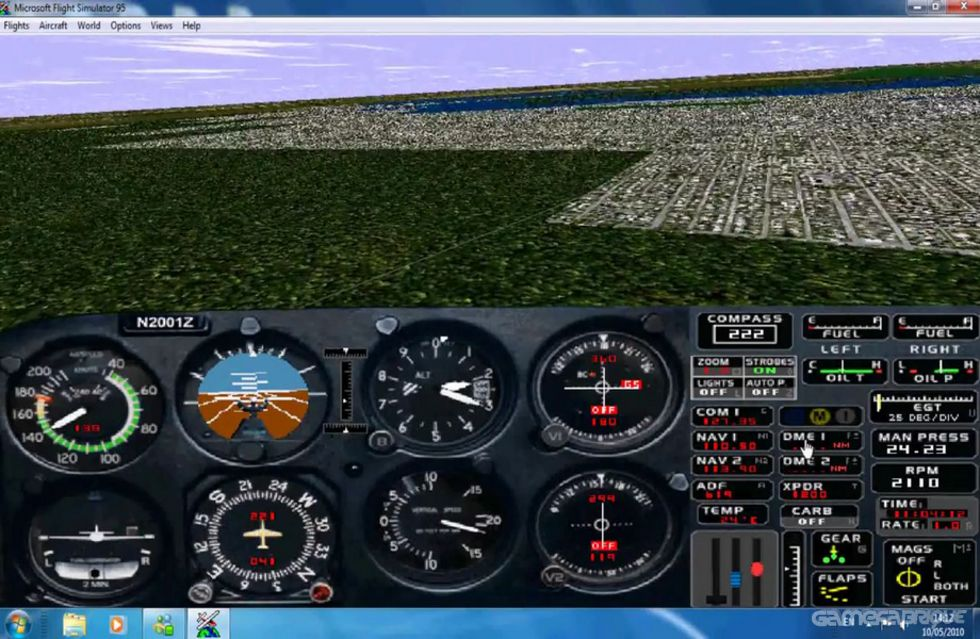 Microsoft Flight Simulator for Windows 95 Download Game