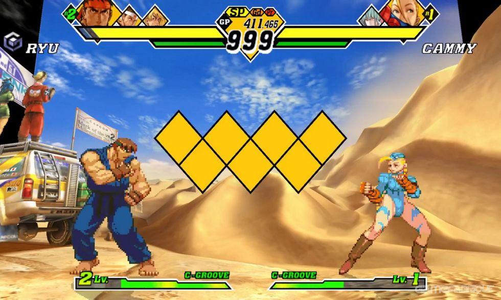 Capcom vs  SNK 2: Mark of the Millenium 2001 Download Game