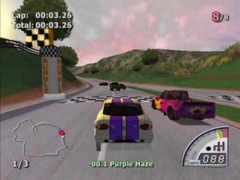 TÉLÉCHARGER RUMBLE RACING PS2