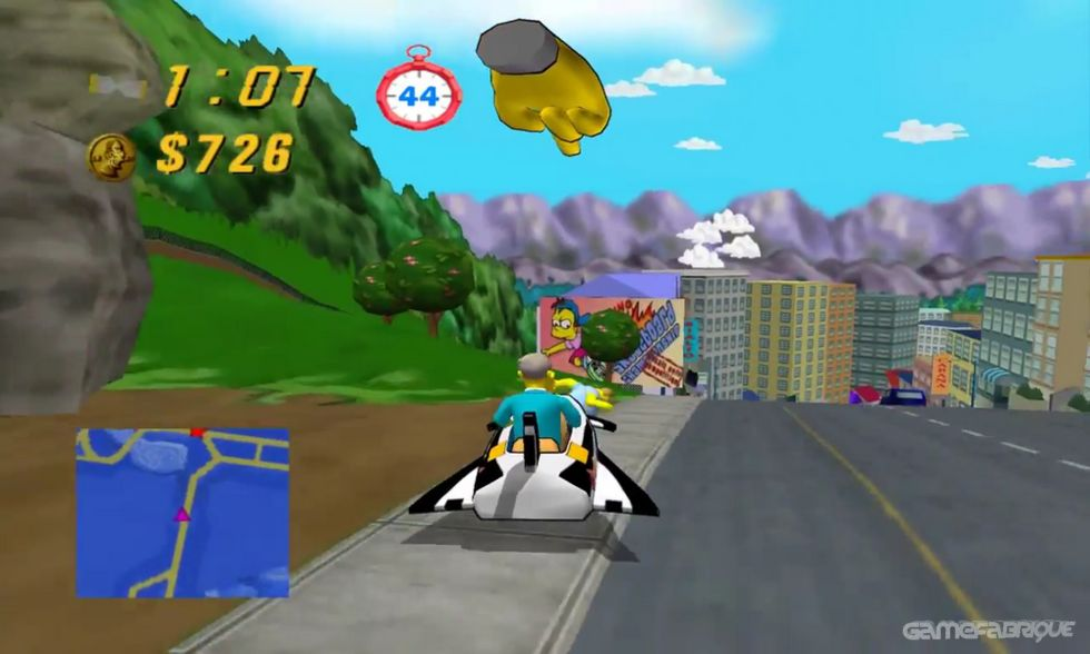 The Simpsons: Road Rage Download Game   GameFabrique