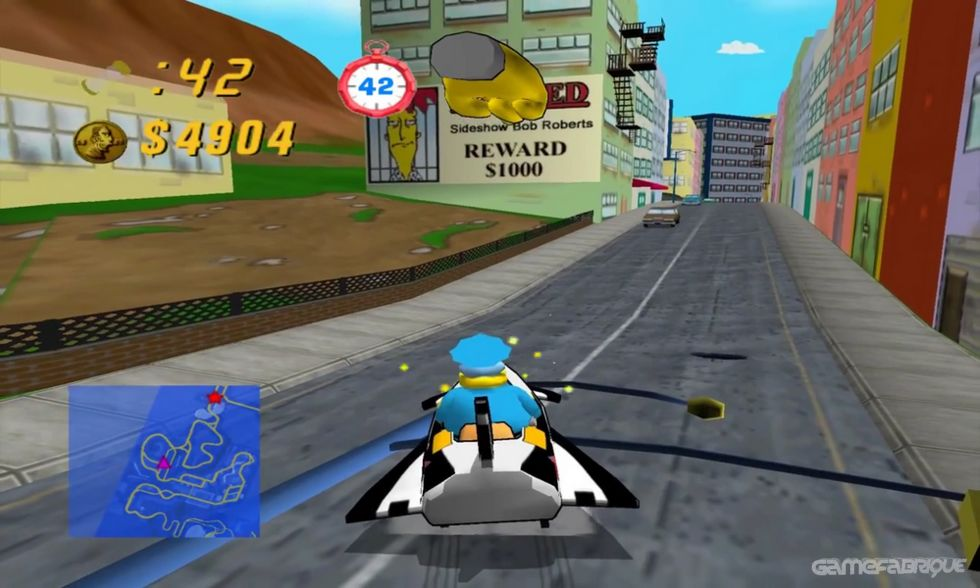 download the simpsons hit and run pcsx2