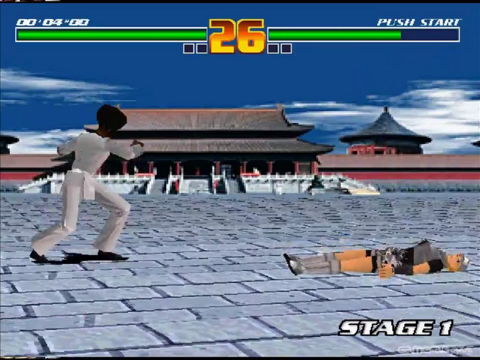fighting game creator psx