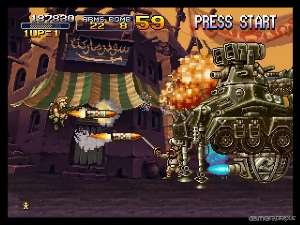 Metal Slug X Download Game | GameFabrique