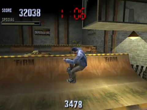 tony hawk pro skater ps1