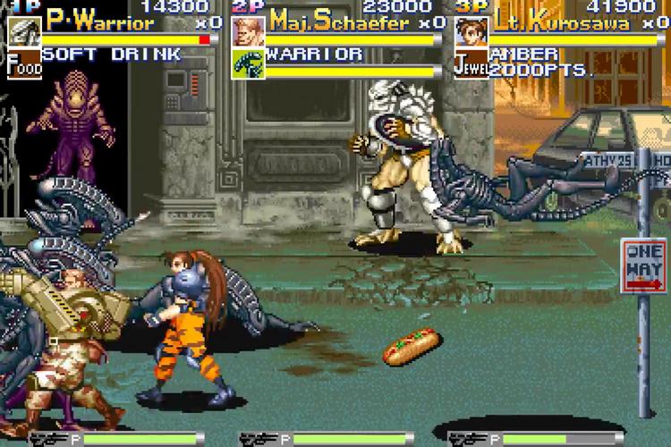 Alien vs. Predator (Euro 940520) : Capcom : Free Borrow ...