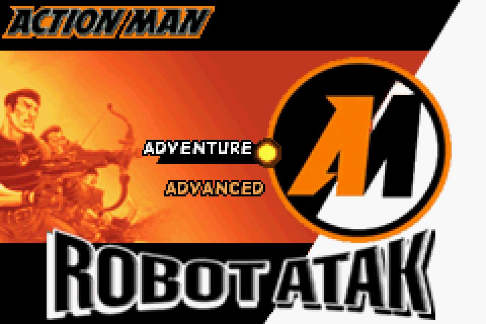 Action Man Robot Atak GBA Screenshot