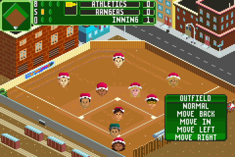 Backyard Sports: Baseball 2007 GBA Screenshot