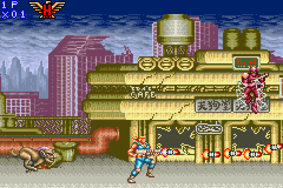 Contra Advance: The Alien Wars Download Game | GameFabrique