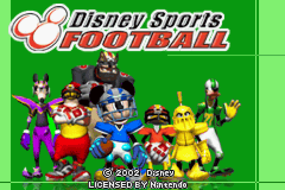 Disney Sports Football Download Game Gamefabrique