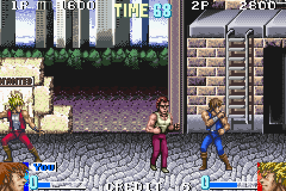 Double Dragon Advance Gba Rom Basewparking