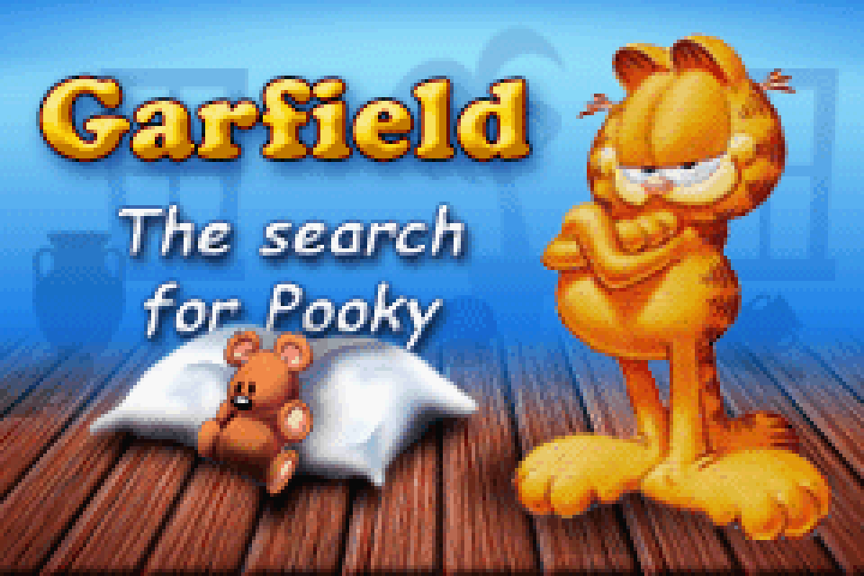 Garfield The Search For Pooky Download Game Gamefabrique