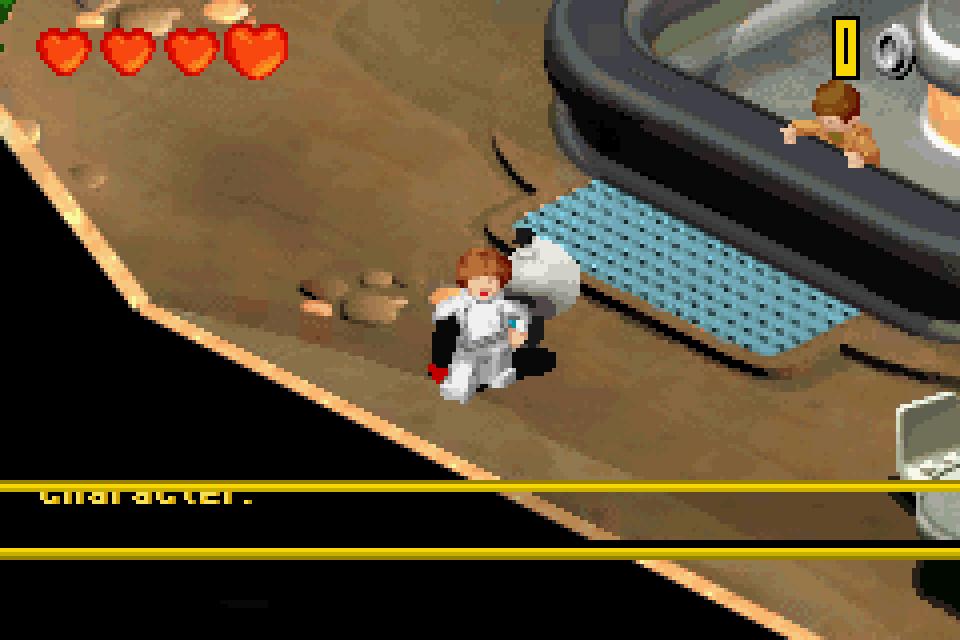 Lego Star Wars II The Original Trilogy GBA Screenshot